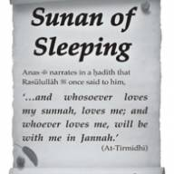 Sunan of Sleeping