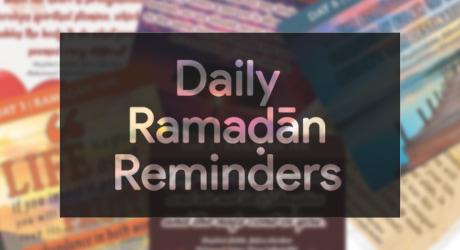Ramadhan Daily Reminders